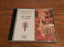 The St. Sebastian Adult Choir Milwaukee Wisconsin Oh Night Divine CD Christmas