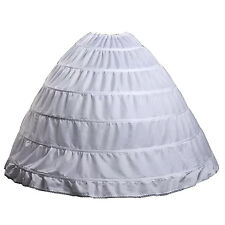 Cordon de serrage mariage jupon Six cerceaux larges pour mariee blanc G5U9