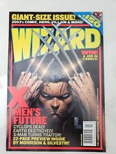 WIZARD Comics Mag #147 Jan 2004 ORIGINAL MARC SILVESTRI WOLVERINE COVER ART!