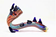 """5"""" Spiky Sherlock Collectible Tobacco Glass Pipe Smoking Herb Bowl Hand Pipes"""
