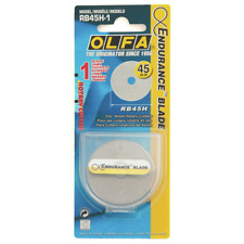 OLFA 45mm Rotary Cutter Endurance Blade- Twice The Life Cycle Of Standard Blades