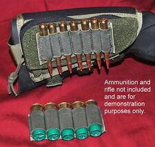 Ammo Padded Cheek Pad Rifle or Shotgun - OD Green