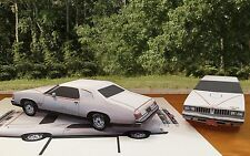 Papercraft EZU-build 1977 Pontiac Lemans Can Am two door coupe paper model car
