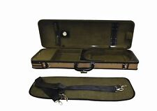 Ferris Professional Wooden Arched 4/4 Violin Case with Hygrometer