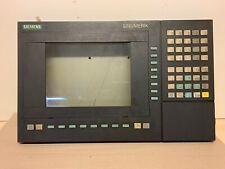 Siemens Sinumerik 840 D, 840D, OP 031 LCD Monochrome; Front panel