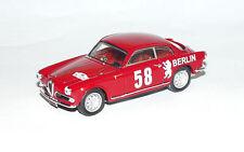 Alfa Romeo Giulietta Sprint 1a serie Rally Sestiere 7206 1/43 Bang Made in Italy