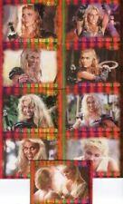 Xena Dangerous Liaisons Callisto Rise Fall Warrior Queen Chase Card Set WQ1 WQ9