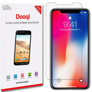6X Dooqi Matte Anti Glare Screen Protector Guard For Apple iPhone X / XS