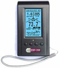 EMF Meter, Advanced GQ EMF-390 Multi-Field Electromagnetic Radiation 3-in-1 EMF