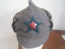 Soviet Russian WW2 Original Border Guards Winter Hat- Budenovka