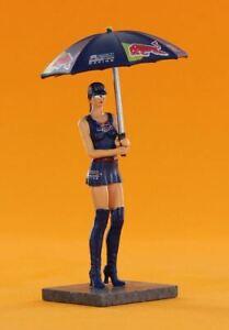Sideways SWFIG/011 Pit / Grid Girl + Umbrella Red Bull Kathleen
