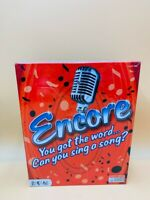 Encore Board Game (2008) BRAND NEW FACTORY SEALED. Music, Singing.