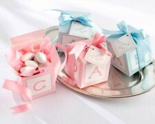 BABY SHOWER, CHRISTENING, FAVOUR BOXES Available in Pink or Blue