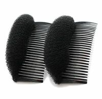 2 Pcs New  Volume Hair Base Bow Comb Bumpits Insert Hair Styling Tool