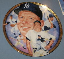 Mickey Mantle 6.5 inch Hamilton Ceramic Plate