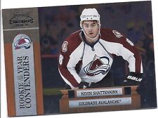 2010-11 PLAYOFF CONTENDERS KEVIN SHATTENKIRK ROOKIE OF THE YEAR RC