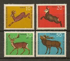 STAMP / TIMBRE ALLEMAGNE GERMANY SERIE N° 364 A 367 ** ANIMAUX SAUVAGES