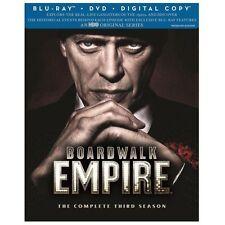 Boardwalk Empire Third Season (Blu-ray Disc, DVD, 7-Disc Set) Steve Buscemi NEW!
