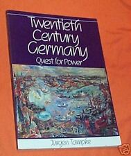 #SS. BOOK - 20th Century GERMANY, QUEST FOR POWER
