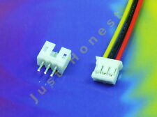 KIT BUCHSENLEISTE+STECKER 3 polig / pins  HEADER 2mm + Male Connector PCB #A552