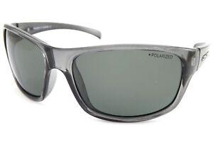 DIRTY DOG Polarized SHOCK Sunglasses Crystal Black / Green Polarised 53510