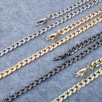 20 ~ 120 CM Flat Chain For Handbag Purse Or Shoulder Strap Bag H03