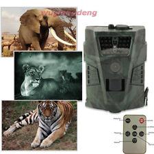 1080P HD 12MP Trail Hunting Scouting Wildlife Camera Trap Infrared IR Night IP56