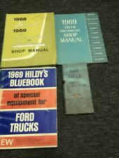 1968 Ford Bronco 1969 Econoline Club Wagon Shop Service Reparatur Manuell Set