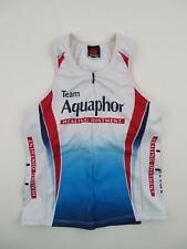 Squadra Women's Team Aquaphor Triathlon Cycling Bike Jersey Small XS Sleeveless