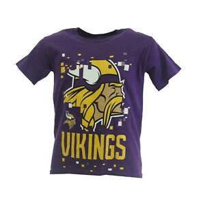 NFL Minnesota Vikings Kids Youth Size Team Apparel Official T-Shirt New With Tag