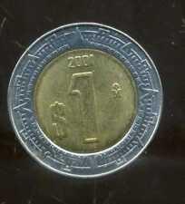 MEXIQUE 1 pesos 2001