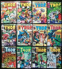 The Mighty Thor Vol. 1 #240 - 349 (Lot of 28) Bronze Age Marvel Comics