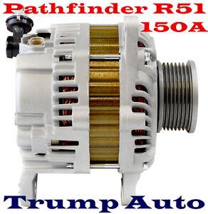 Alternator to Nissan Pathfinder R51 4WD YD25DDTI 2.5L Turbo Diesel 05-14 150A