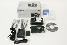 OLYMPUS PEN E-P2 12.3MP Digital Camera-Black (only Body) Boxed [Near Mint]