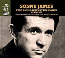 Sonny James - 4 Classic Albums Singles Cd4 Real Gone
