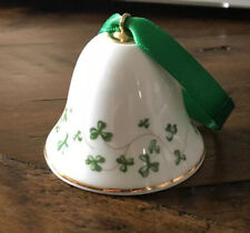 Handmade Galway Fine Bone China ROYAL TARA BELL FROM IRELAND w/ Shamrocks Clover