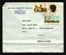 Angola 1979 Airmail Cover to USA / Bottom Fold - Z15104