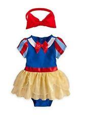 Baby Girl Snow Halloween Princess Romper Dress Headband 2pcs Costume 6-24M