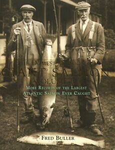 BULLER FRED FLY FISHING BOOK DOMESDAY BOOK OF GIANT SALMON Volume II BARGAIN new
