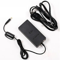 High Quality Slim AC Adapter Charger Power Cord Cable Supply for Sony PS2 Black