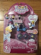 NEW DISNEY PRINCESS SQUINKIES CINDERELLA SERIES 5 Five Horse Carriage 2012