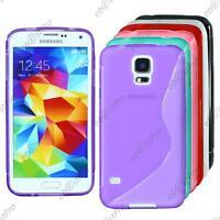 Housse Etui Coque Silicone Motif S-line Gel Samsung Galaxy S5 G900F/New G903F