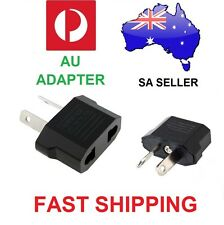 AU Travel Power Adapter from US EU to AU Adapter -  SA SELLER  ** FAST POSTAGE *