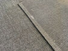 SALE BLACK GREY 'PAMPAS' BRUSHED WEAVE UPHOLSTERY CURTAIN FABRIC MATERIAL SALE!