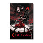 Castlevania Cartoon Anime Poster TV Series Wall Art Print 24x36 inch Room Decor