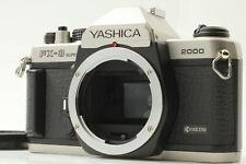 【RARE! NEAR MINT】YASHICA KYOCERA FX-3 SUPER 2000 Rare Silver From Japan #0699