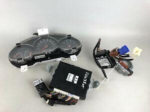 2006 Subaru Forester XT Engine Ignition Kit Speedometer ECU Barell W/Key SET