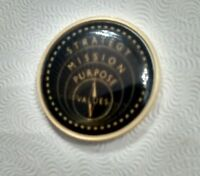 Rare pre 2003 UPS Corporate Mission Golf Ball Marker