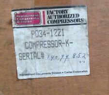 Discounthvaccp P0341221 Carrier Compressor 1hp 208230v R22 1ph Achp Freeship