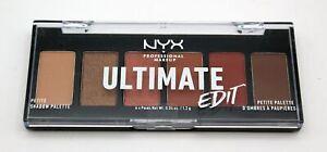 7,2 g NYX Ultimate Edit Eyeshadow Lidschatten Palette USPP01 Warm Neutrals